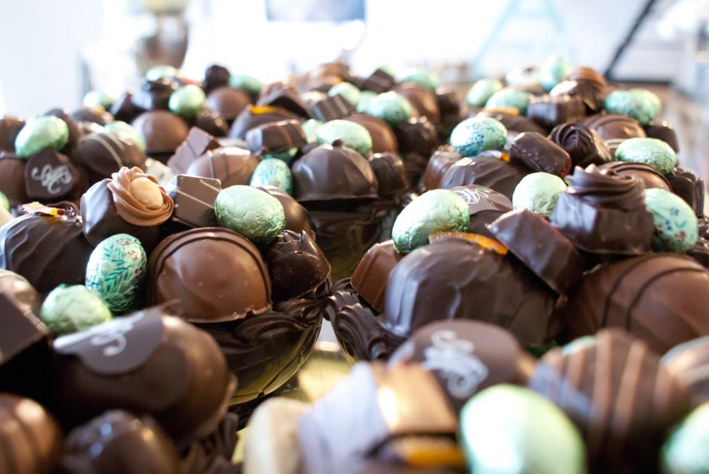 Påskeæg fra Aalborg Chokoladen