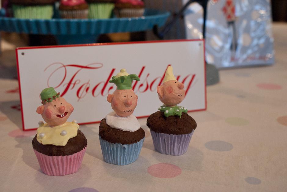 Cupcakes fra Medusa Copenhagen