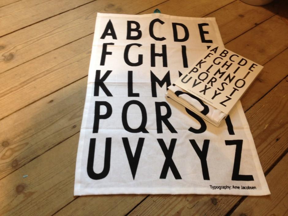 Viskestykker fra Design Letters