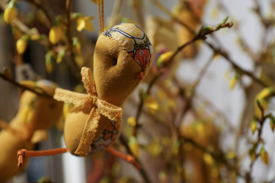 Påskekyllinger fra Maileg