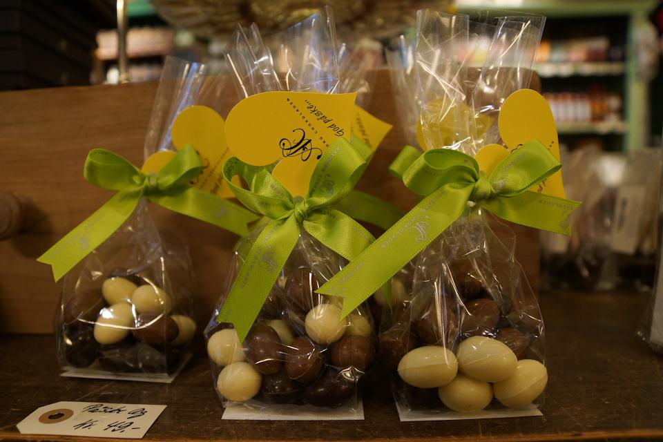 Chokoladeæg fra Aalborg Chokoladen