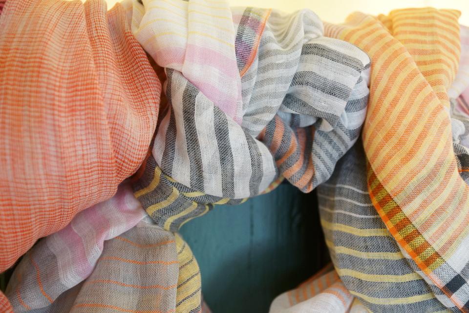 Tørklæder fra Ørhskov og Co.